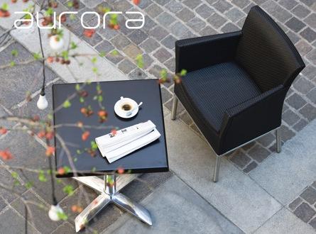 Mobilier d'extérieur pour restaurant avec terrasse ou jardin