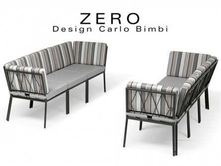 banquette design modulable Zero