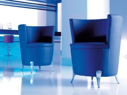 fauteuil en cuir synthétique de type Welcome
