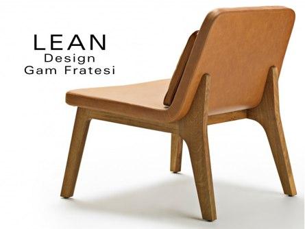 Des meubles design en cuir pour équiper vos espaces pros